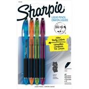 Sharpie Liquid Pencil Mechanical Pencils, 0.5mm, Fashion Colors, 4/pack