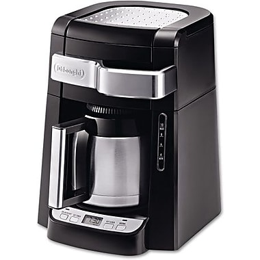 Delonghi 10 Cup Frontal Access Coffee Brewer, Black