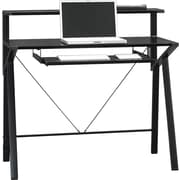 Sauder® Studio Edge Computer Desk, Black