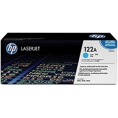 HP 122A (Q3961A) Cyan Original LaserJet Toner Cartridge