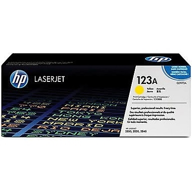 HP 123A Yellow Toner Cartridge (Q3972A)