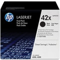 HP 42X Black Toner Cartridges (Q5942XD), High Yield Twin Pack
