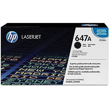 HP 647A Black Toner Cartridge (CE260A)