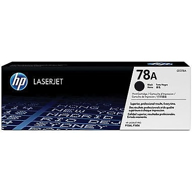 HP 78A Black Toner Cartridge (CE278D), Twin Pack