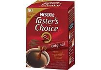 Nescafé® Taster's Choice® Soluble Coffee, Original, .07 oz., 80 Packets