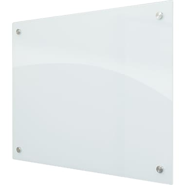Best-Rite Enlighten Glass Dry-Erase Board, White, 3' x 4'