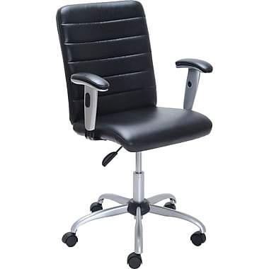 Staples Tayrona Luxura&trade Task Chair, Black