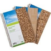 "Sustainable Earth by Staples™ Sugarcane-Based Notebook, 9-1/2"" x 6"", 200 Pages"