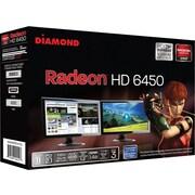 DIAMOND AMD Radeon™ HD 6450 PCIE 1GB GDDR3 Video Graphics Card
