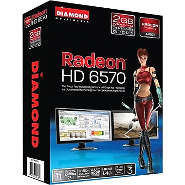 DIAMOND AMD Radeon™ HD 6570 PCIE 2GB GDDR3 Graphic Card