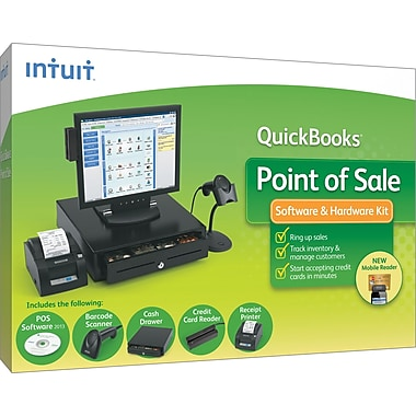 QuickBooks Point of Sale 2013 Basic Software/Hardware Bundle [Boxed]