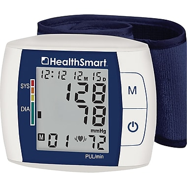 HealthSmart™ Premium Talking Automatic Wrist Digital Blood Pressure Monitor