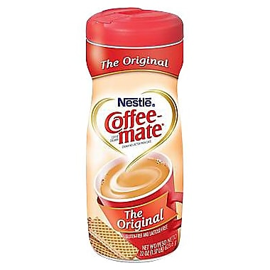 Nestlé Coffee-Mate® Powdered Creamer, Original, 22 oz. Canister