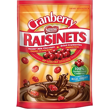 Raisinets® Milk Chocolate Covered Cranberries, 5.5 oz. Bag