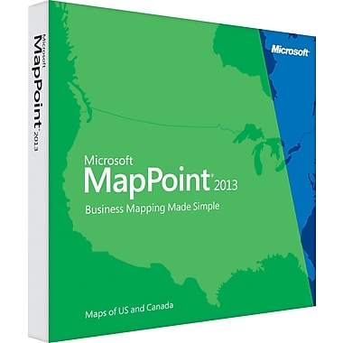 Microsoft® MapPoint® 2013