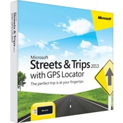 Microsoft® Streets & Trips 2013 with GPS Locator [Boxed]