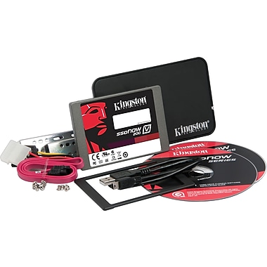 Kingston SSDNow V200 64GB 2.5in. SATA III (6 Gb/s) MLC Internal Solid State Drive (SSD) w/ Upgrade Kit
