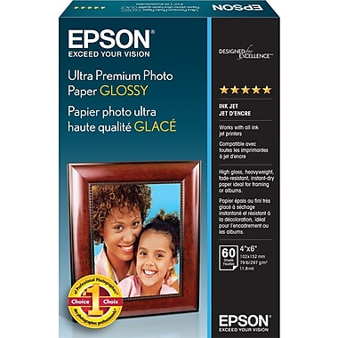 Epson® Ultra Premium Photo Paper, 4