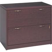 "HON® Valido™ 11500 Series File Cabinet, 29 1/2""H x 36""W x 20""D, Mahogany"