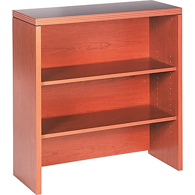 HON® Valido™ 11500 Series Bookcase Hutch, 29 1/2in.H x 36in.W x 20in.D, Bourbon Cherry