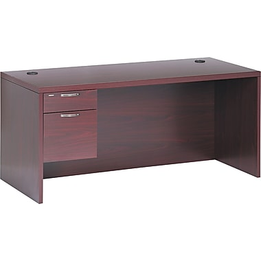 HON® Valido™ 11500 Series Left Pedestal Desk, 29 1/2