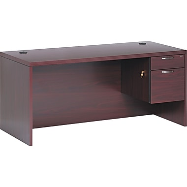 HON® Valido™ 11500 Series Right Pedestal Desk, 29 1/2in.H x 66in.W x 30in.D, Mahogany