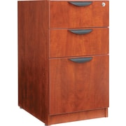 Alera™ Valencia Box/Box/File Full Pedestal, 28 1/2H x 15 5/8W x 22 7/8D, Medium cherry