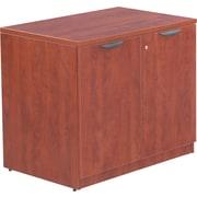 Alera™ Valencia Storage Cabinet, 29 1/2H x 34W x 22 3/4D, Medium Cherry