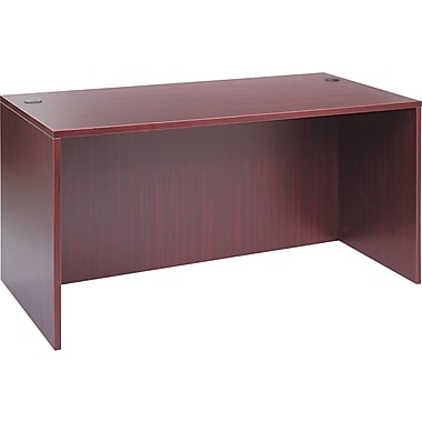 Straight Front Desk Shell, 29 1/2in.H x 59 1/8in.W x 29 1/2in.D