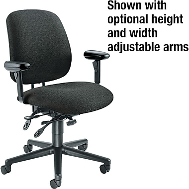 HON® 7700 High Performance Task Chair, Black