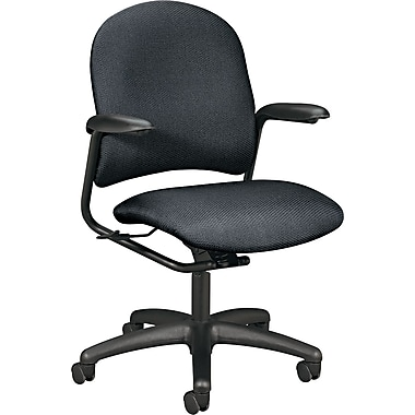HON® Alaris™ 4220 Mid-Back Swivel/Tilt Task Chair, Gray