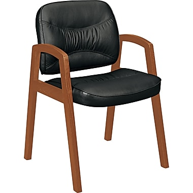basyx® VL803 Series Leather Guest Chairs Leather Guest