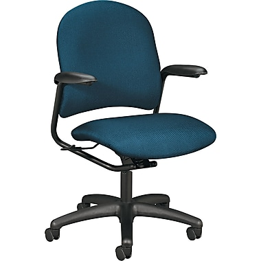 HON® Alaris™ 4220 Mid-Back Swivel/Tilt Task Chair, Blue