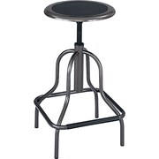 Safco Diesel 27 High Base Stool without Back, Pewter (6665)