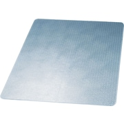 deflect-o® SuperMat Medium Weight Chair Mat, Clear, 60''L x 46''W