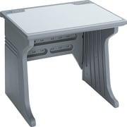 Iceberg® Aspira™ Modular Workstation Desk, 30in.H x 34in.W x 28in.D, Charcoal