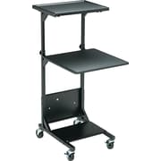 "Balt® 20""D Adjustable Height Projection Stand, Black"