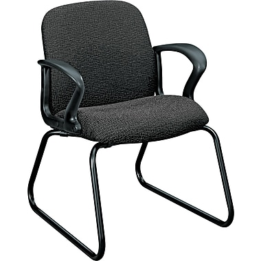 HON® Gamut® Fabric Guest Chair, Gray