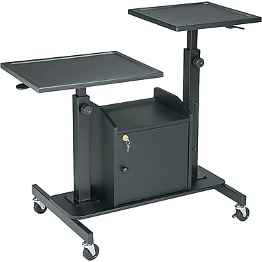 Balt® 24in.D Pro-View Projection Stand, Black