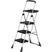 Cosco® Platform Step Stools Steel, Black, 55""