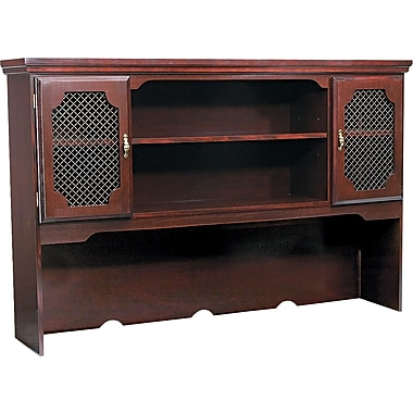 DMI™ Governors Traditional Laminate Hutch, 66in.W, Mahogany