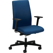HON Ignition Mid-Back Task/Computer Chair for Office and Computer Desks, Arms, Blue
