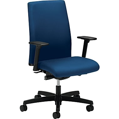 HON ® Ignition Mid-Back Fabric Work Chair, Blue