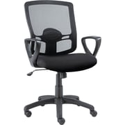 Alera Etros Mesh Managers Office Chair, Fixed Arms, Black (ALEET42ME10B)