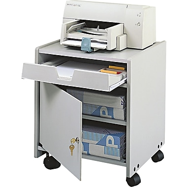 Safco® GSA® 22 1/2in.H x 19in.W x 18 1/4in.D Machine Floor Stand, Gray