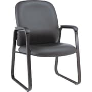Alera Genaro Steel Guest Chair, Black (ALEGE43LS10B)