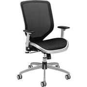 HON Boda Mesh Back and Seat Task/Computer Chair for Office and Computer Desks, Black