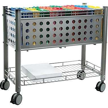 Vertiflex™ Mobile File Carts Steel, Wire