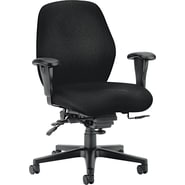 HON® 7800 High Performance Mid-Back Task Chair, Black