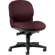 HON® Sensible Seating® Mid-Back Fabric Chair, Burgundy